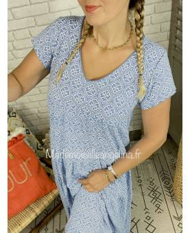 ROBE PULL MOUTARDE - MODÈLE MILANO